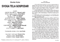 Program Svoga tela gospodar