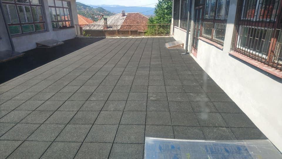 Obnova školske terase