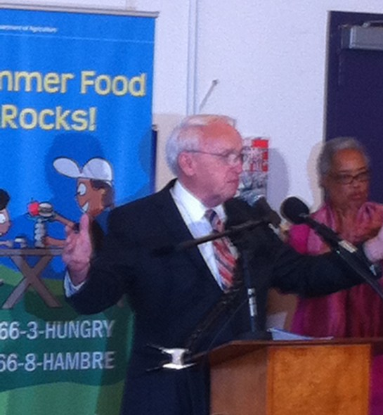 Kevin Concannon, USDA Undersecretary for Food, Nutrition and Consumer Services