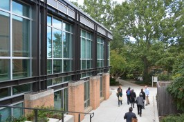 Sidwell Friends' buildings have plenty of windows for natural light and low energy costs