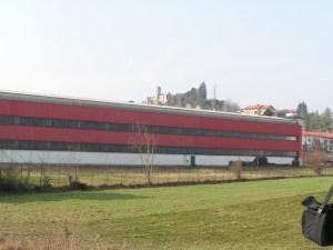 centro storico Cerrione fabbrica rossa