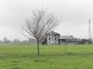 Cascina Vigna Verrone paesaggio rurale abbandonato