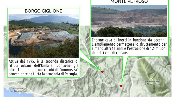 L'area nord di Perugia in mano a Ponzio Pilato… Continua la raccolta firme!