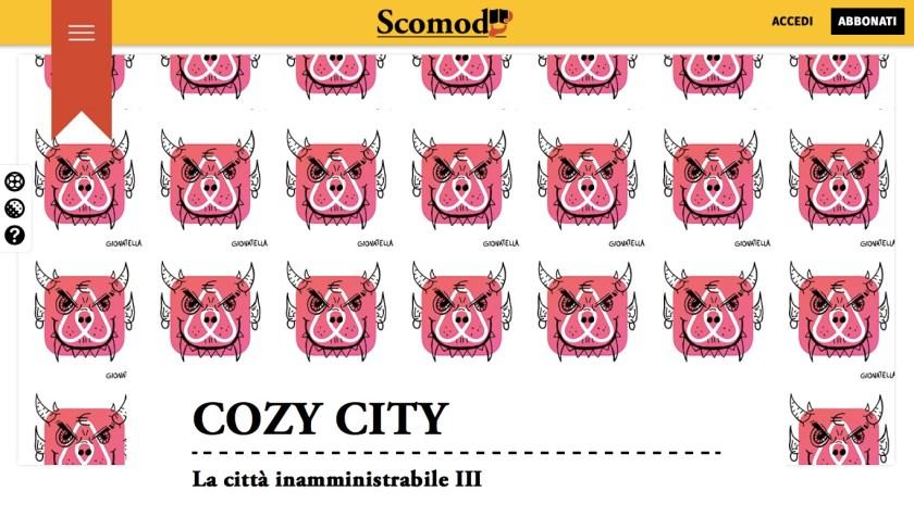 COZY CITY, la città inamministrabile III di Giovanni Tucci