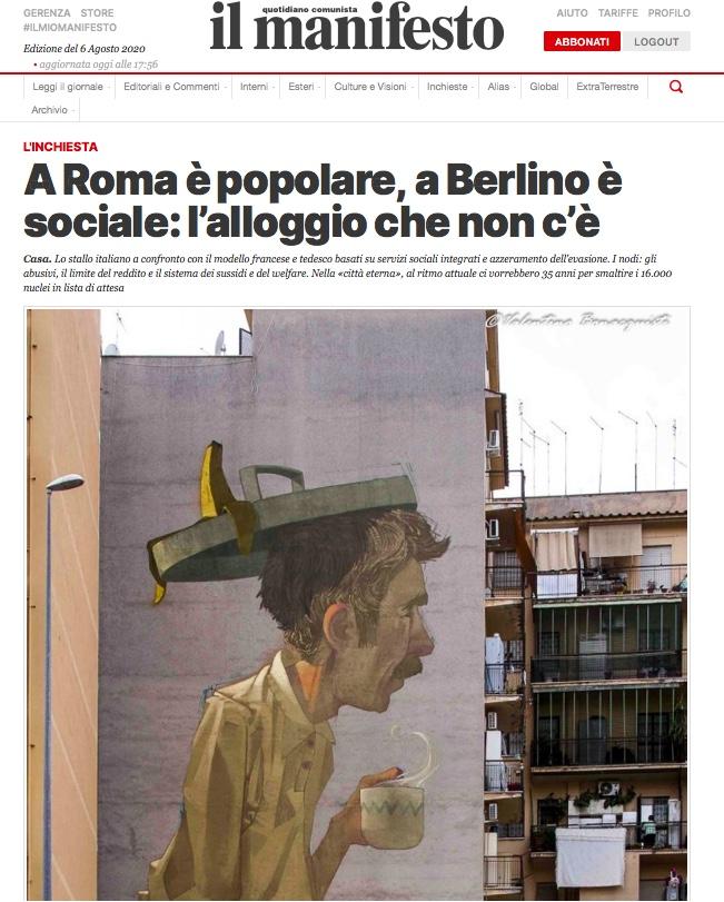 A Roma è popolare, a Berlino è sociale: l'alloggio che non c'è di Federico Bonadonna e Enrico Puccini