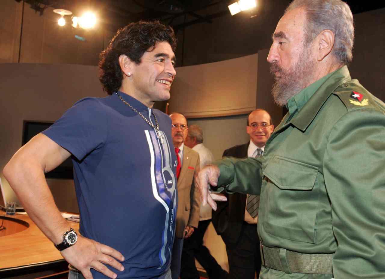 Maradona Fidel Castro Diego