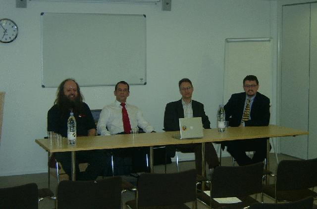OSSG's own Gang Of Four
