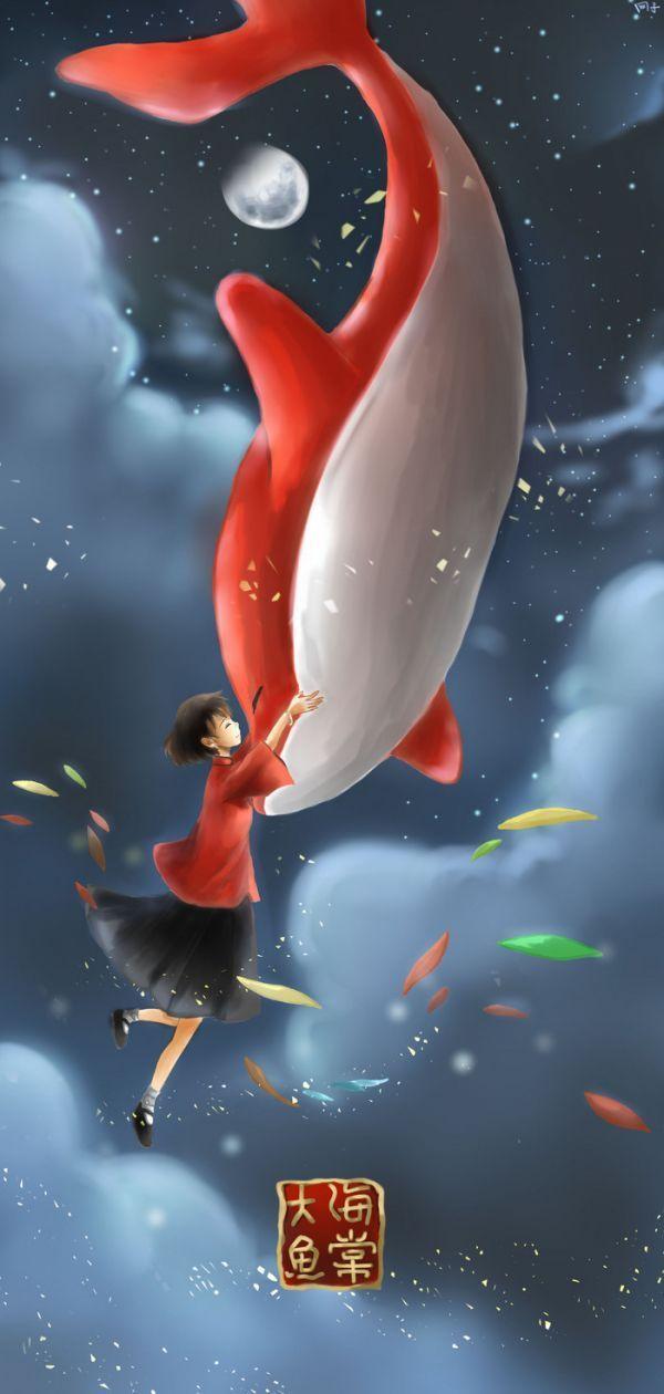大魚海棠中鯤為什么是海豚的造型-