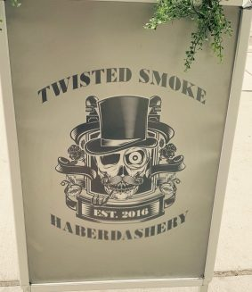 twisted smoke sign