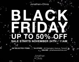Jonathan + Olivia Black Friday