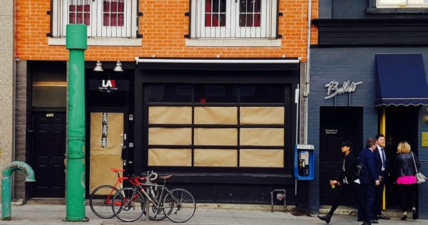 LAS closed on Ossington