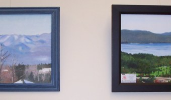 November/December Art Display ~ Rachel Ward