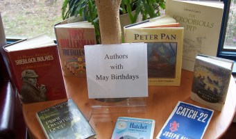 Authors With May Birthdays