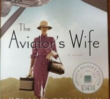 "February Book Group: ""The Aviator's Wife"" by Melanie Benjamin"