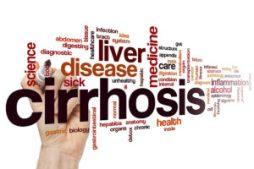 Cirrhosis word cloud