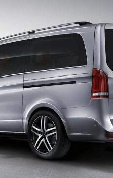 Bare longitudinale Mercedes Vito 2014+ W447