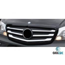 Ornamente inox grila radiator Mercedes Sprinter 2013+ W906 Facelift