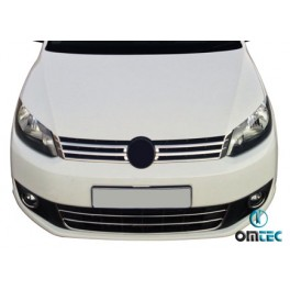 Ornamente inox grila radiator Vw Caddy 2010+