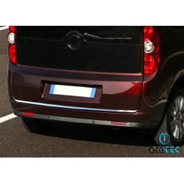 Ornament inox muchie haion Fiat Doblo 2010+