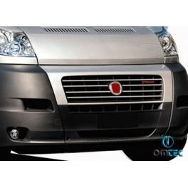 Ornamente inox grila radiator Fiat Ducato 2006-2014