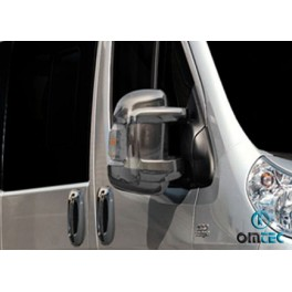 Capace oglinzi cromate Peugeot Boxer 2006+