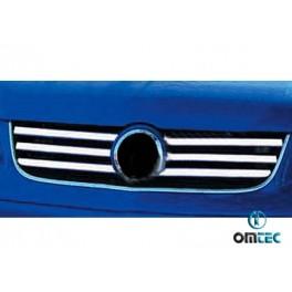 Ornamente inox grila radiator Vw T5 Caravelle 2004-2010