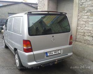 Eleron-spoiler spate Mercedes Vito 1996-2003 W638