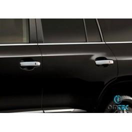 Ornamente inox manere Toyota Land Cruiser 200