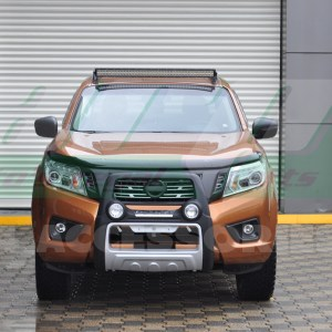 Bullbar bara protectie fata poliuretan Nissan Navara 2015+