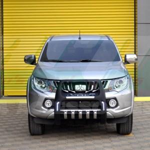 Bullbar bara protectie fata poliuretan Mitsubishi L200 2015+