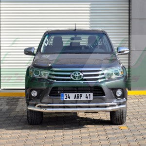 Bara protectie fata inox Toyota Hilux 2015+