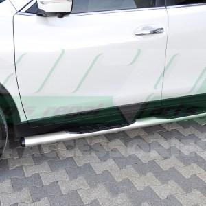 Praguri laterale din otel inoxidabil Nissan XTrail cod OV004 Premium Grey