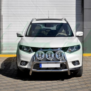 Bullbar inox Nissan XTrail 2014-2016 cod WT018 Kungsbacka