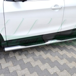 Praguri laterale din otel inoxidabil Nissan Qashqai cod OV004 Premium Grey