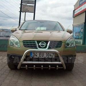 Bullbar inox Nissan Qashqai 2007-2014 cod WT003 Inform