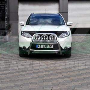 Bullbar inox Nissan Qashqai cod WT018 Kungsbacka