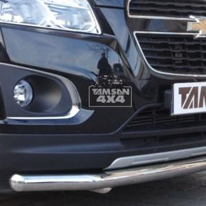 Bara protectie fata inox Opel Mokka 2012-2014 cod ST014 Greyder