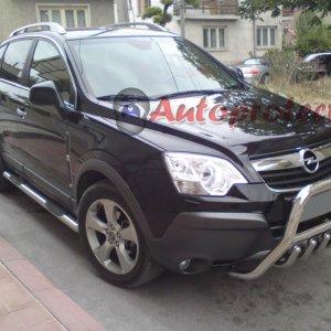 Bullbar bara protectie fata inox Opel Antara 2007+ cod WT003 Inform