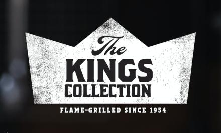 "Burger King lanza trío de hamburguesas "" The Kings Collection"""