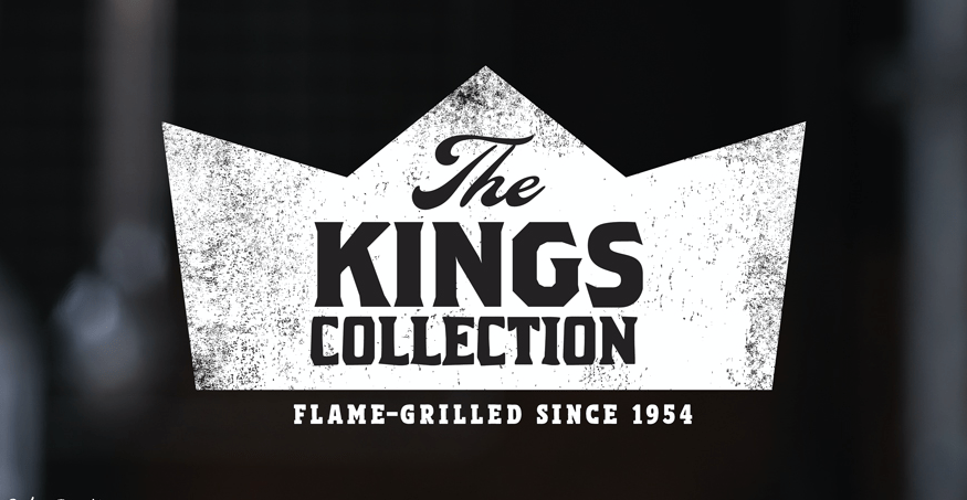 "Burger King lanza trío de hamburguesas "" The Kings Collection"""