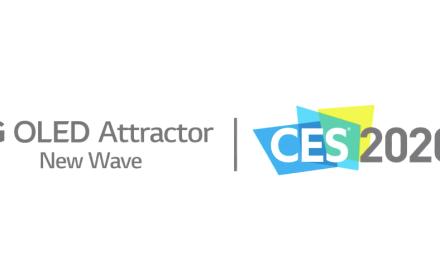"""LG vuelve a impresionar a los espectadores de CES con sus exposiciones OLED """"Wave"""" y """"Fountain"""""""