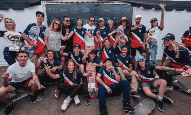 Skaters chilenos compiten para sumar puntos  y llegar a los Juegos Olímpicos Tokio 2020