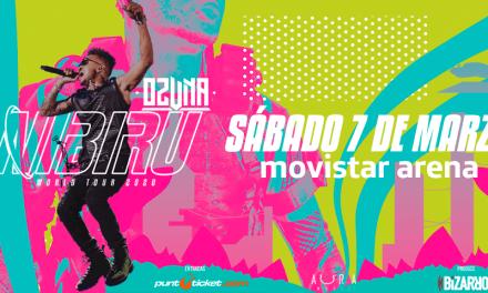 EL NIBIRU WORLD TOUR 2020 DE OZUNA CAMBIA DE FECHA EN CHILE