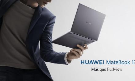Comienza la venta en Chile del nuevo notebook ultraliviano HUAWEI MateBook 13