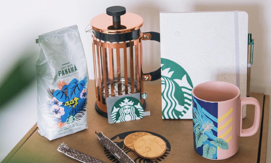 Starbucks Box Edición Limitada: Una exclusiva propuesta para vivir la experiencia Starbucks en la comodidad de tu casa