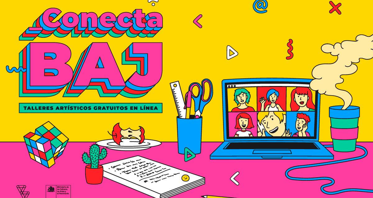 Balmaceda Arte Joven prepara nuevo ciclo de talleres artísticos gratuitos en línea para jóvenes