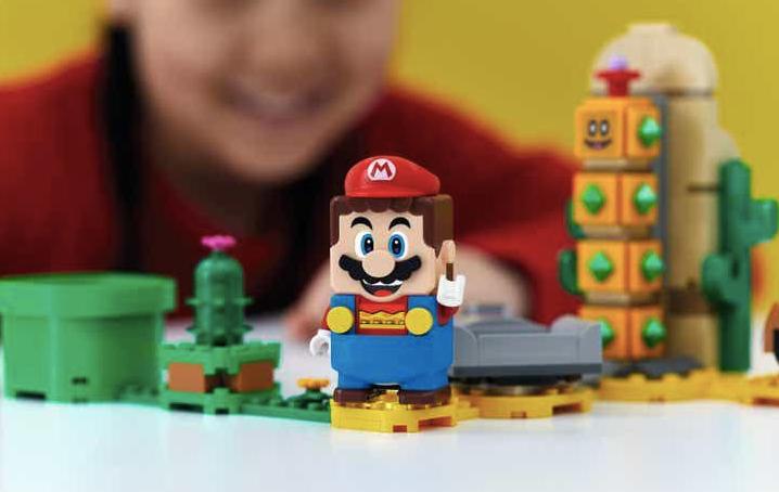 El Grupo LEGO y Nintendo lanzan la nueva experiencia de juego LEGO® Super Mario