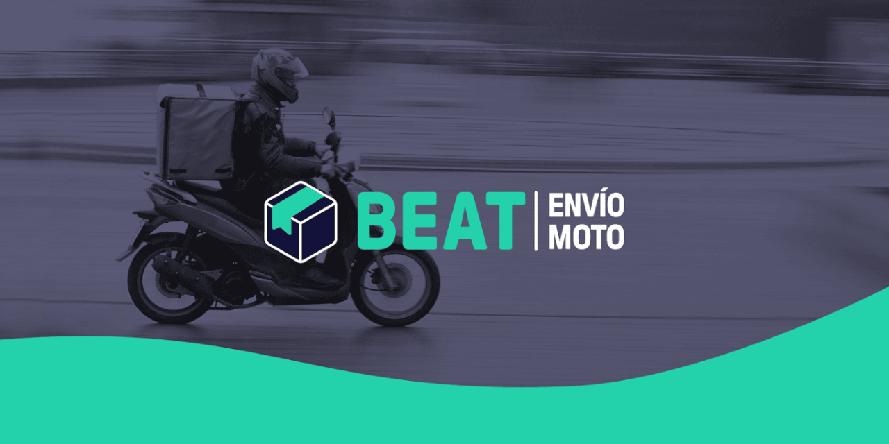 Llega Beat Envío Moto, el nuevo servicio de entregas de Beat