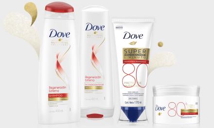 Dove presenta nueva línea de productos para regenerar el pelo extremadamente dañado