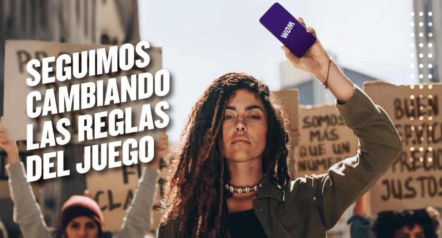 WOM llega a sus 5 años en Chile superando los 6 millones de clientes